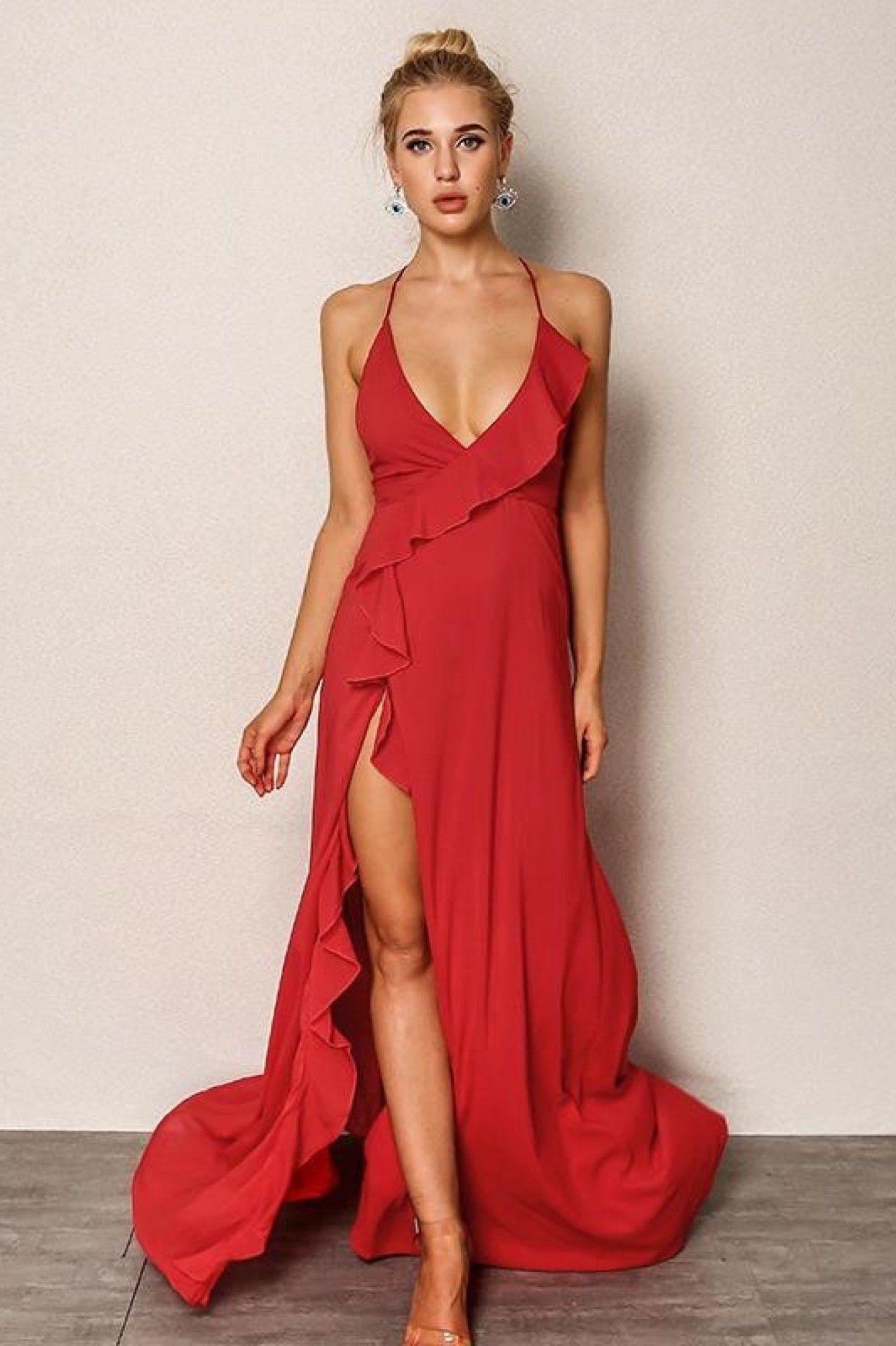 Precillau ruffle maxi dress fashions pinterest maxi dresses