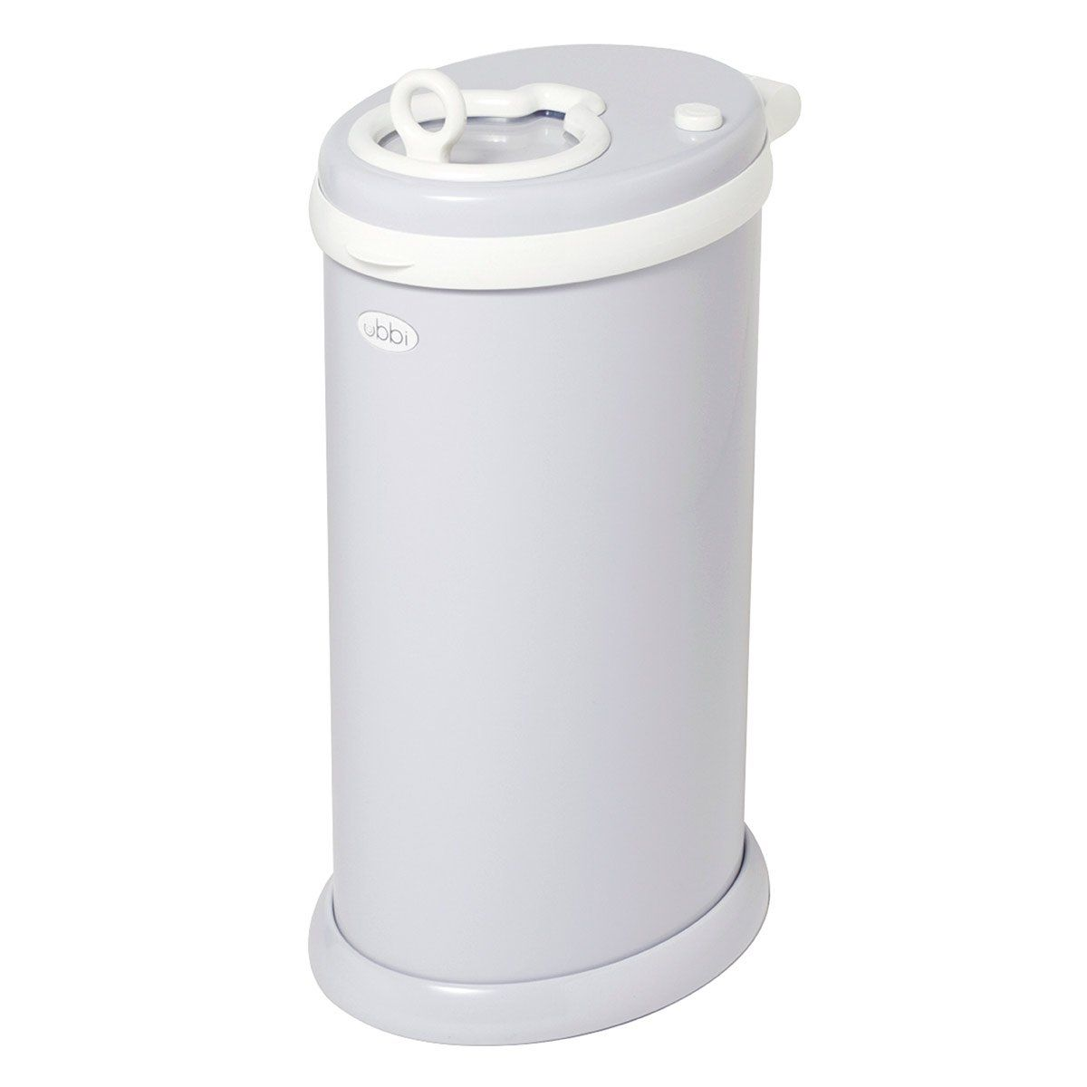 Ubbi steel diaper pail does not require special bags you - Poubelle chambre bebe ...