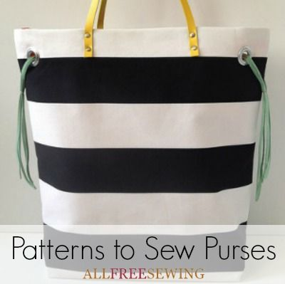 50+ Patterns to Sew Purses | Purse, Patterns and Coins