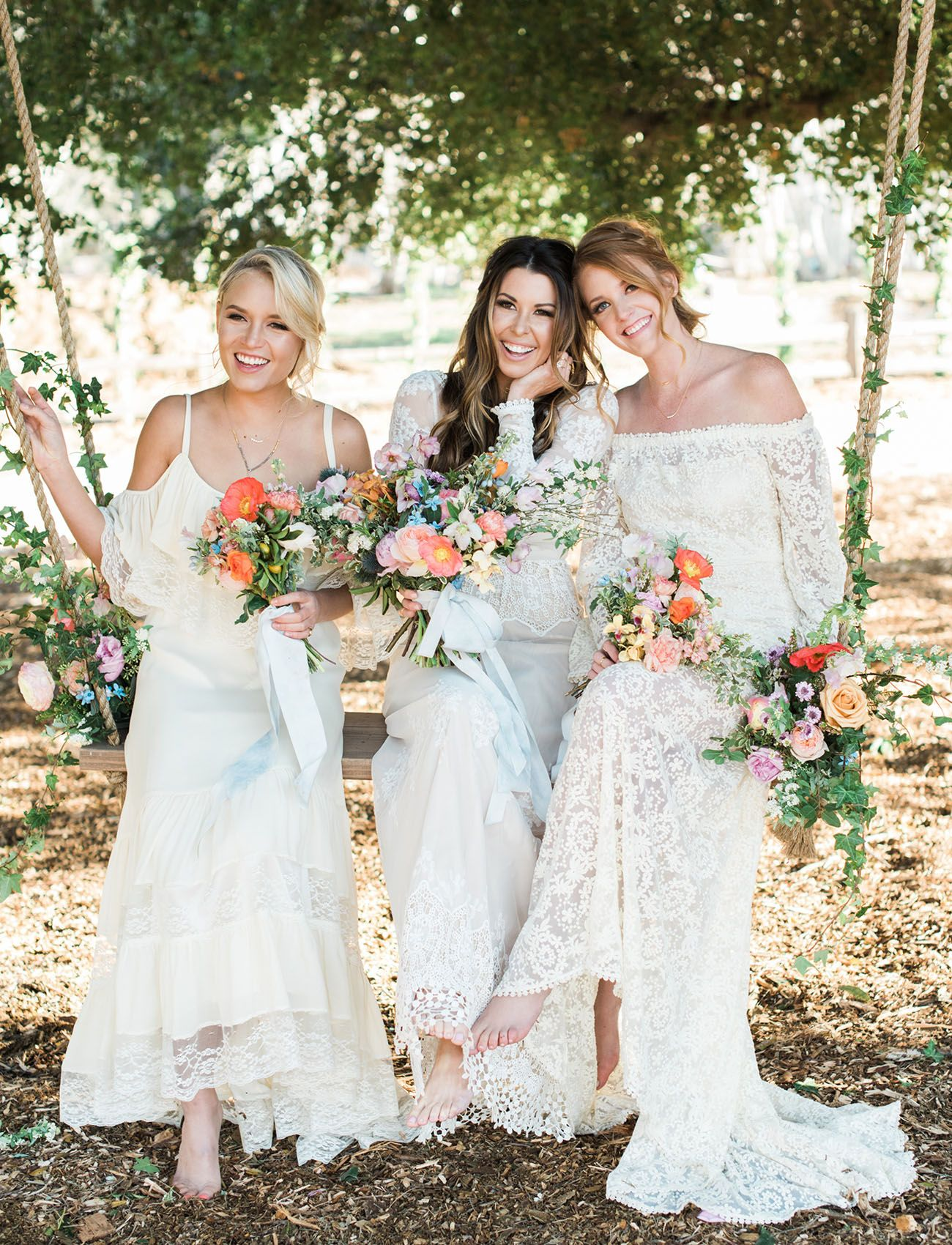 Boho chic meets geode watercolor pastel wedding inspiration