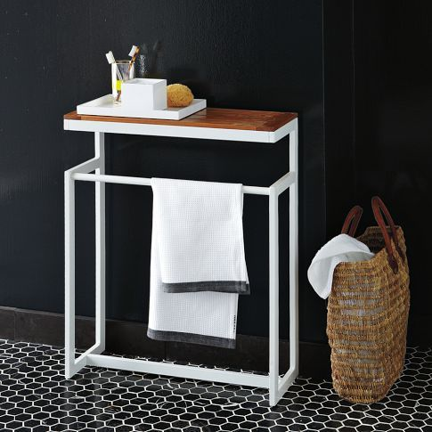 Gives another sm surface in now smaller bathroom on - Free standing bathroom vanities sale ...