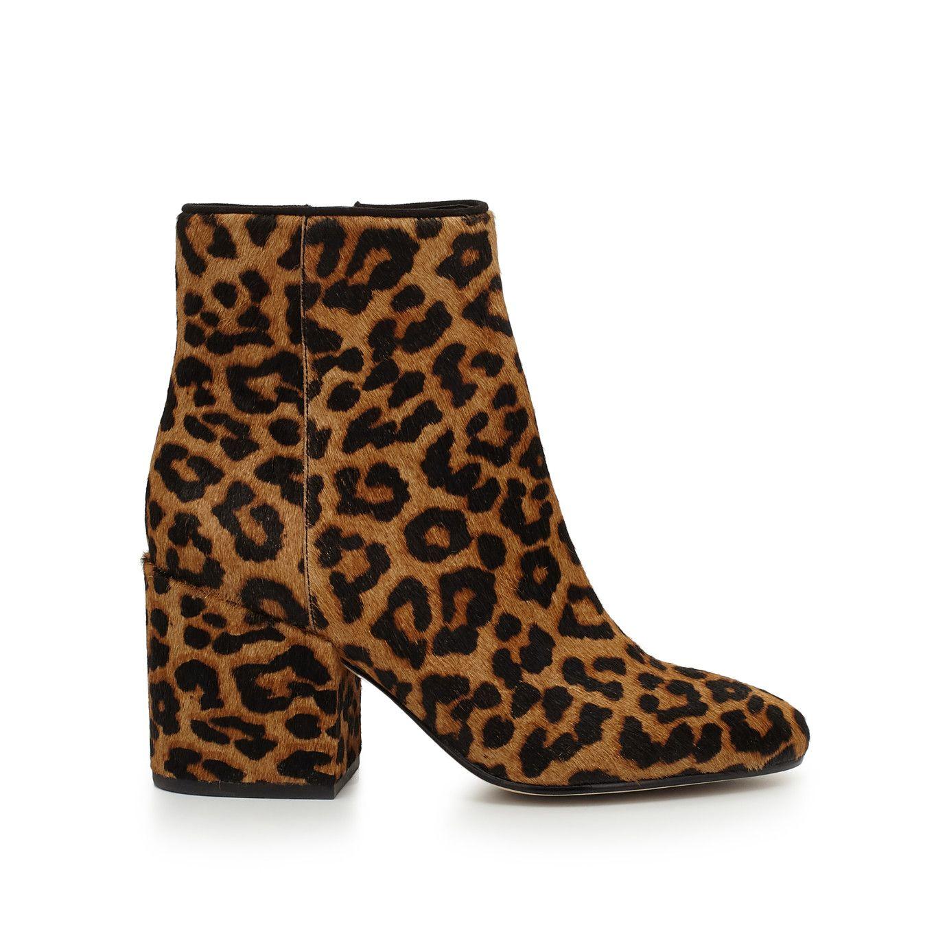 5ce33d2c3900df  180 Taye Heeled Ankle Bootie by Sam Edelman - Leopard Brahma - View ...