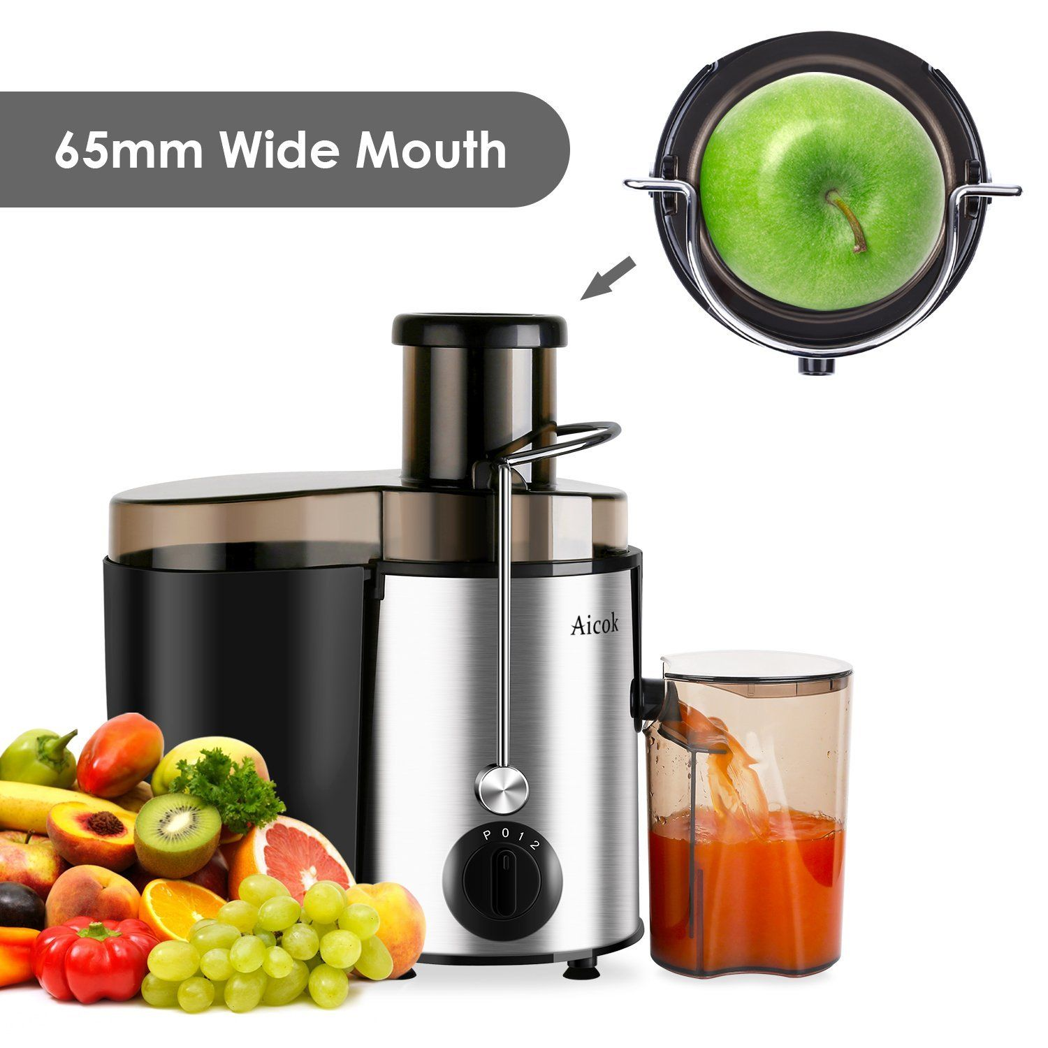 : Aicok Juicer Juice Extractor High Speed for