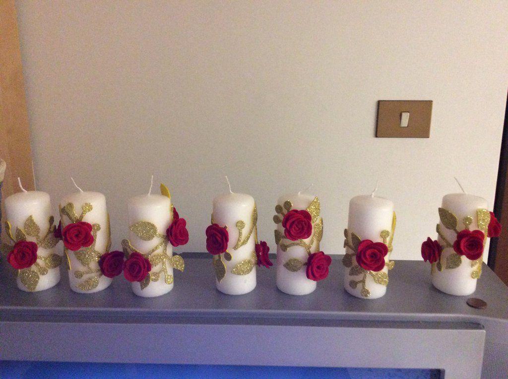 Decorare Candele Bianche : Risultati immagini per decorare candele bianche candele