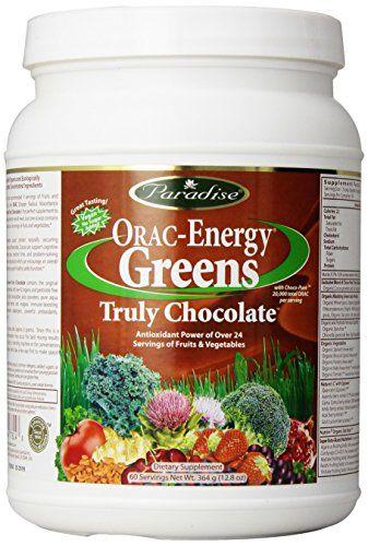 Paradise Herbs Oraac Energy Truly Powder Chocolate 364 Gram