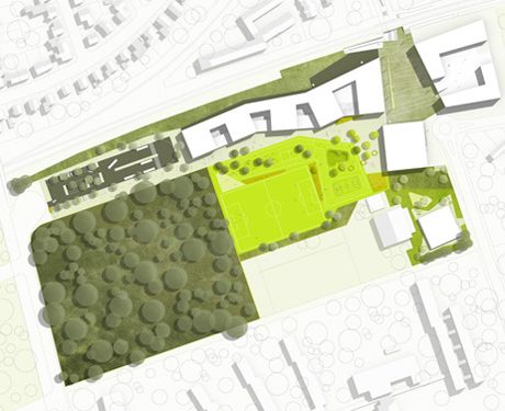 Landschaftsarchitekten München stadtmitte am fluss saarbrücken atelier
