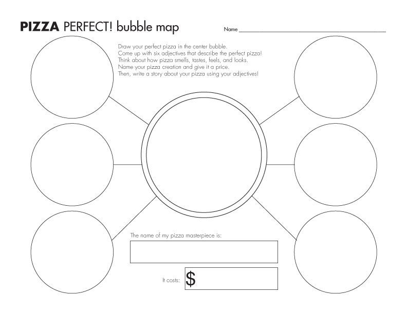 Who Doesnt Like Pizza Explore Pizza With Bubble Maps Venn