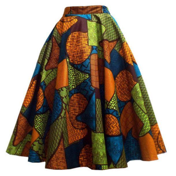 Ankara skirt African fabric skirt  Afrocentric print skirt African textile African print skirt