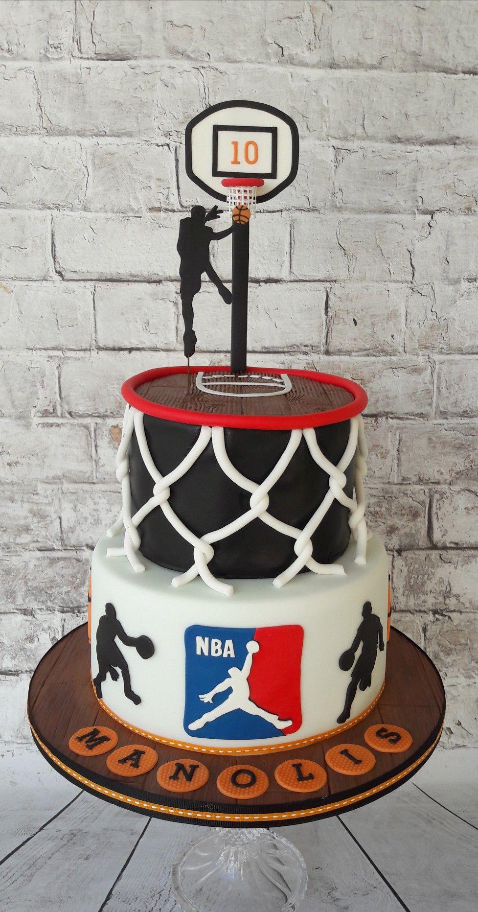 NBA basketball cake. My cakes/cookies in 2019 Boys