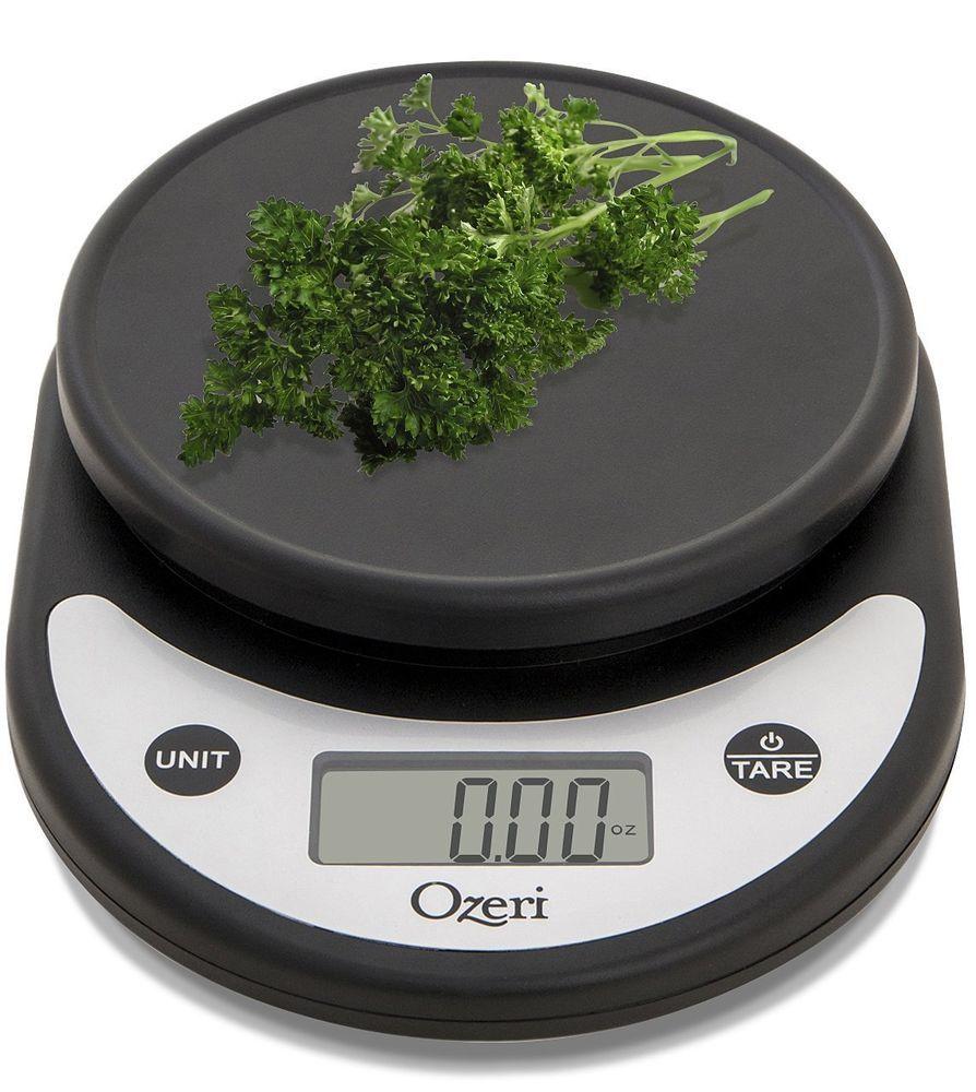 Digital ozeri and pronto multifunction kitchen food scale