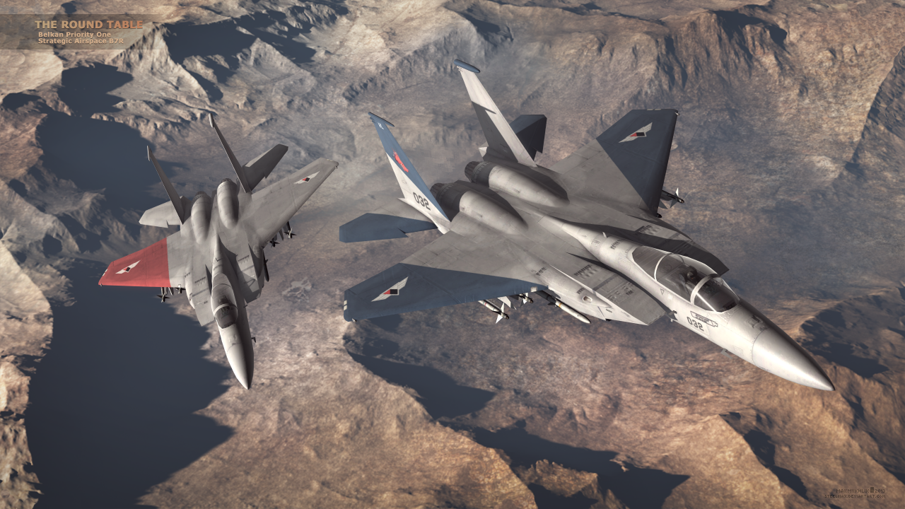 The Round Table Ace Combat.The Round Table Art Ace Combat Zero By Steelmax Yukikaze Ace