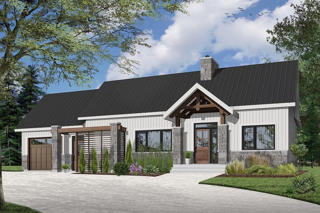 Hpm Home Plans Home Plan 728 3992 Ranch Style House Plans Craftsman Style House Plans Cottage Style House Plans