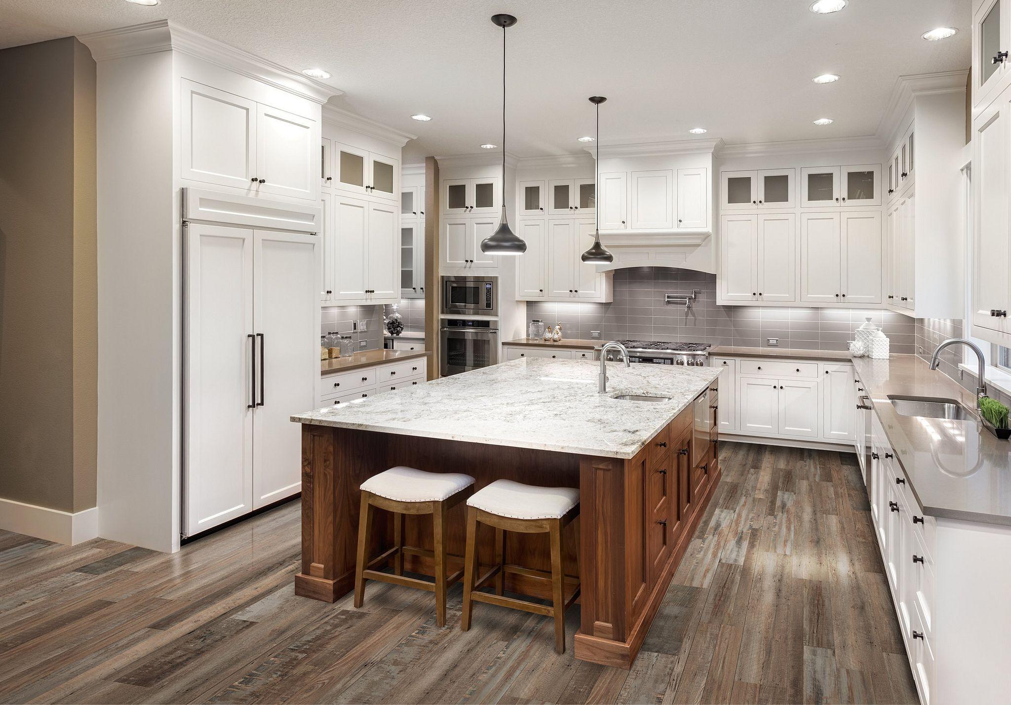 Redefined Pine Rustic Vinyl Flooring Large Kitchen Interior Kitchen Interior Kitchen Remodel