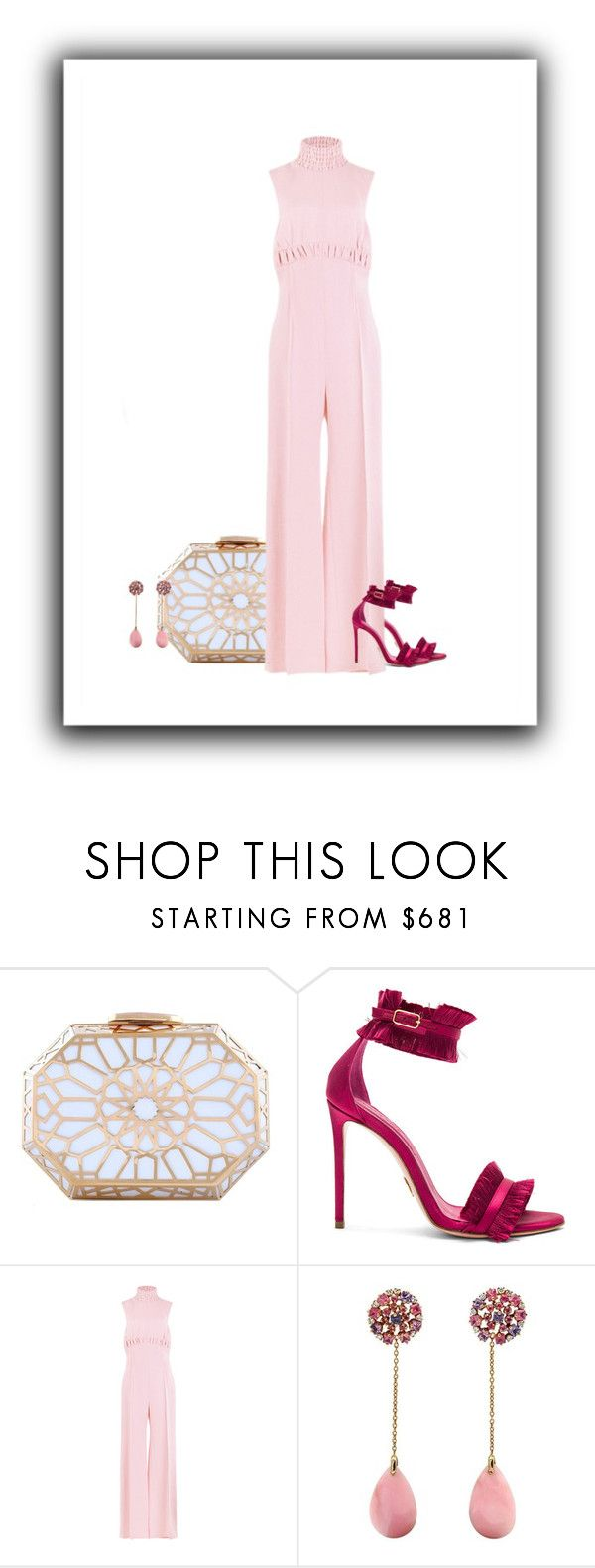 """just say yes"" by paolanoel ❤ liked on Polyvore featuring Oscar Tiye and Emilia Wickstead"