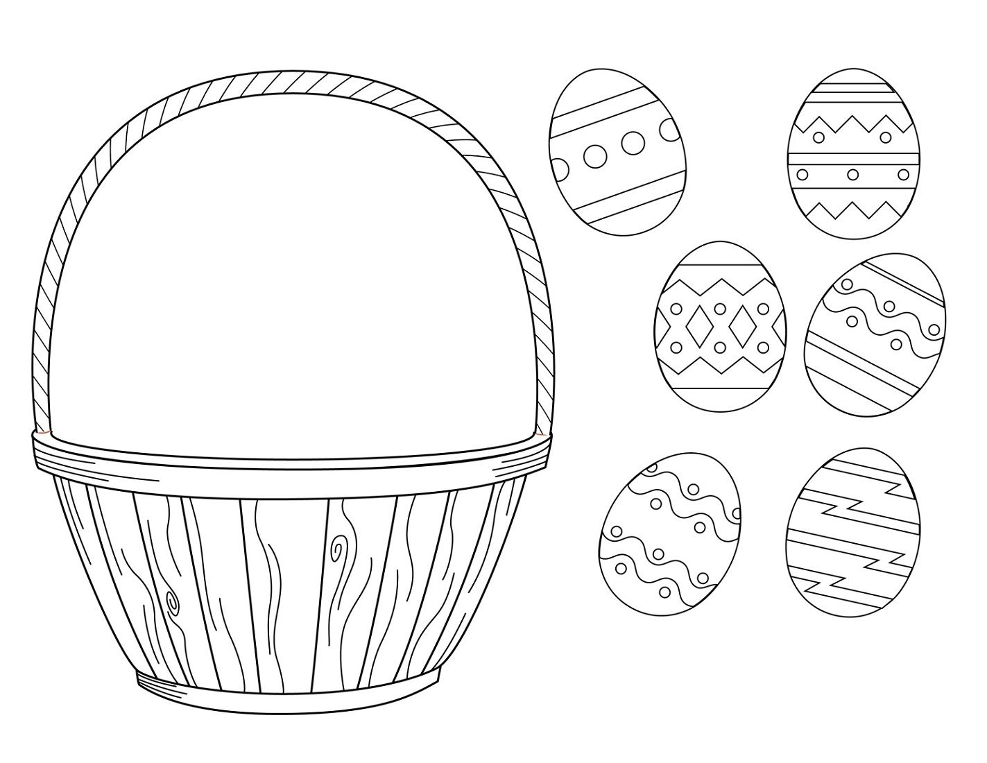 Toddler Learning Activities Printable Free Easter