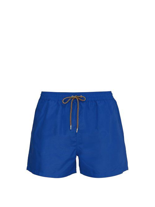f889ff3a4c PAUL SMITH PAUL SMITH - CLASSIC FIT SWIM SHORTS - MENS - BLUE. #paulsmith