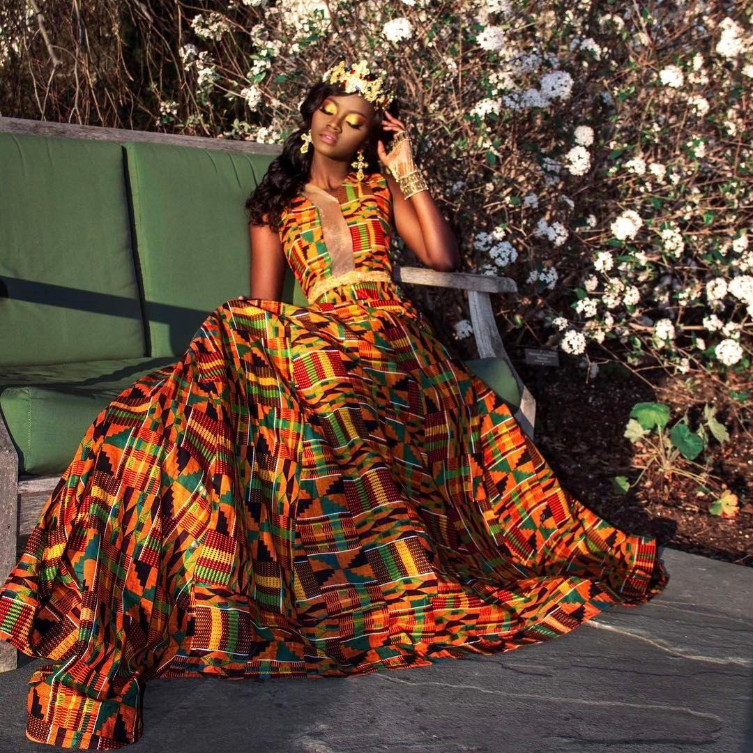 I am loving this africanprint african fashion pinterest