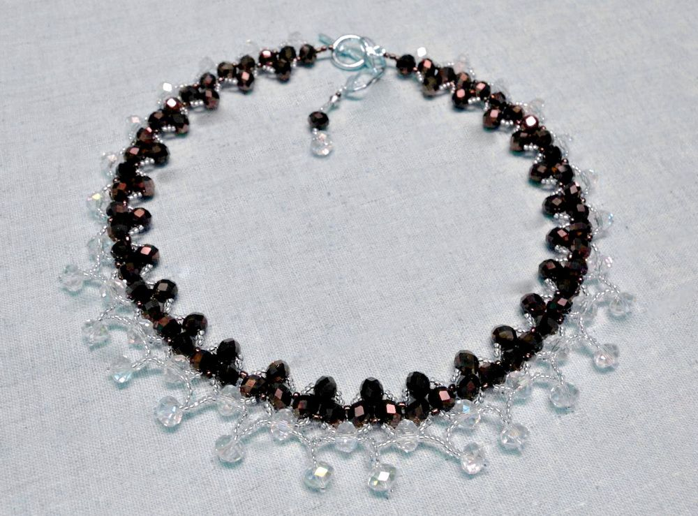 FREE Pattern for Necklace DRESDEN | Beads Magic. Page 1 of 2