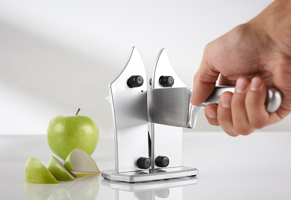 The Professional Knife Sharpener keeps your chef, pairing