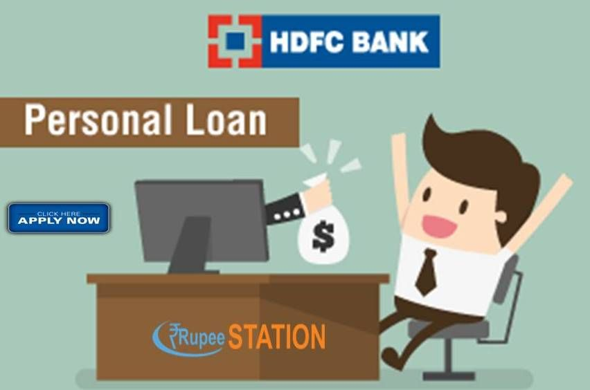 If You Are Looking For A Personal Loan In Hdfc Bank Then You Can Easily Apply At Ruppestation By The Following Simple Step Personal Loans How To Apply Person