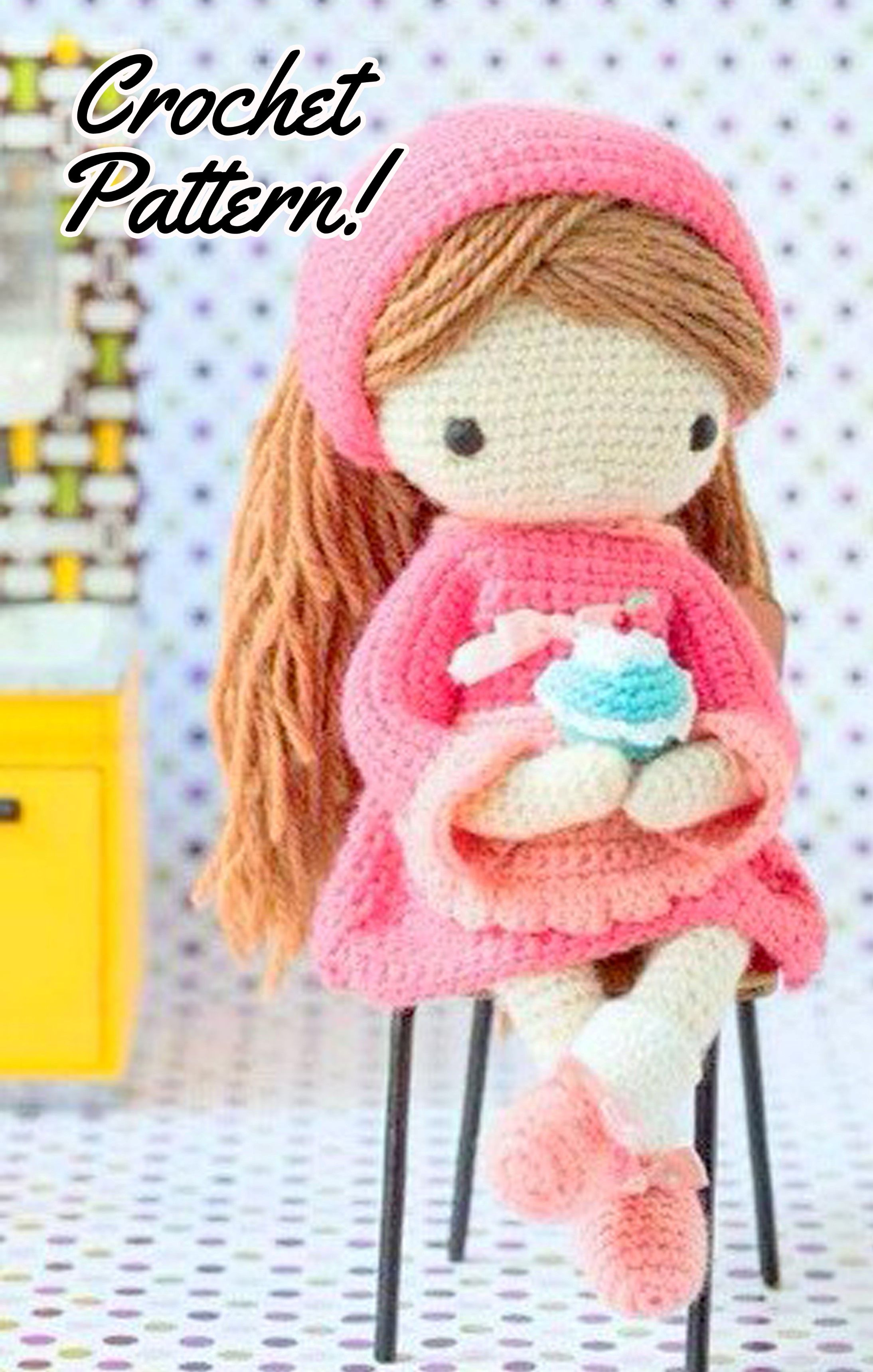 My Crochet Doll - A Fabulous Crochet Doll Pattern with Over 50 ... | 3437x2188
