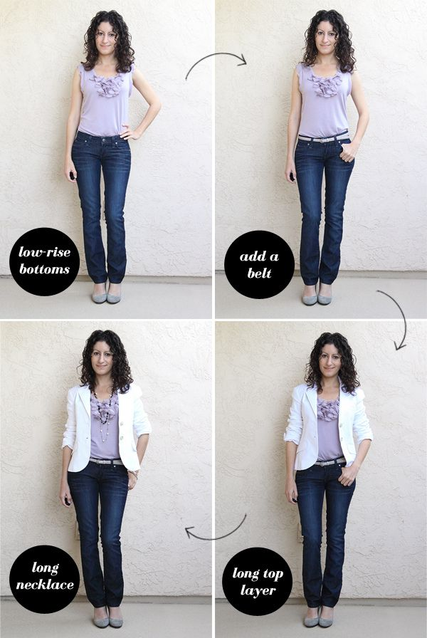 fe1739396d How to tuck in if you are short-waisted