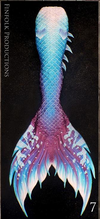 silicone mermaidtail finfolk finfolkstudios galaxy