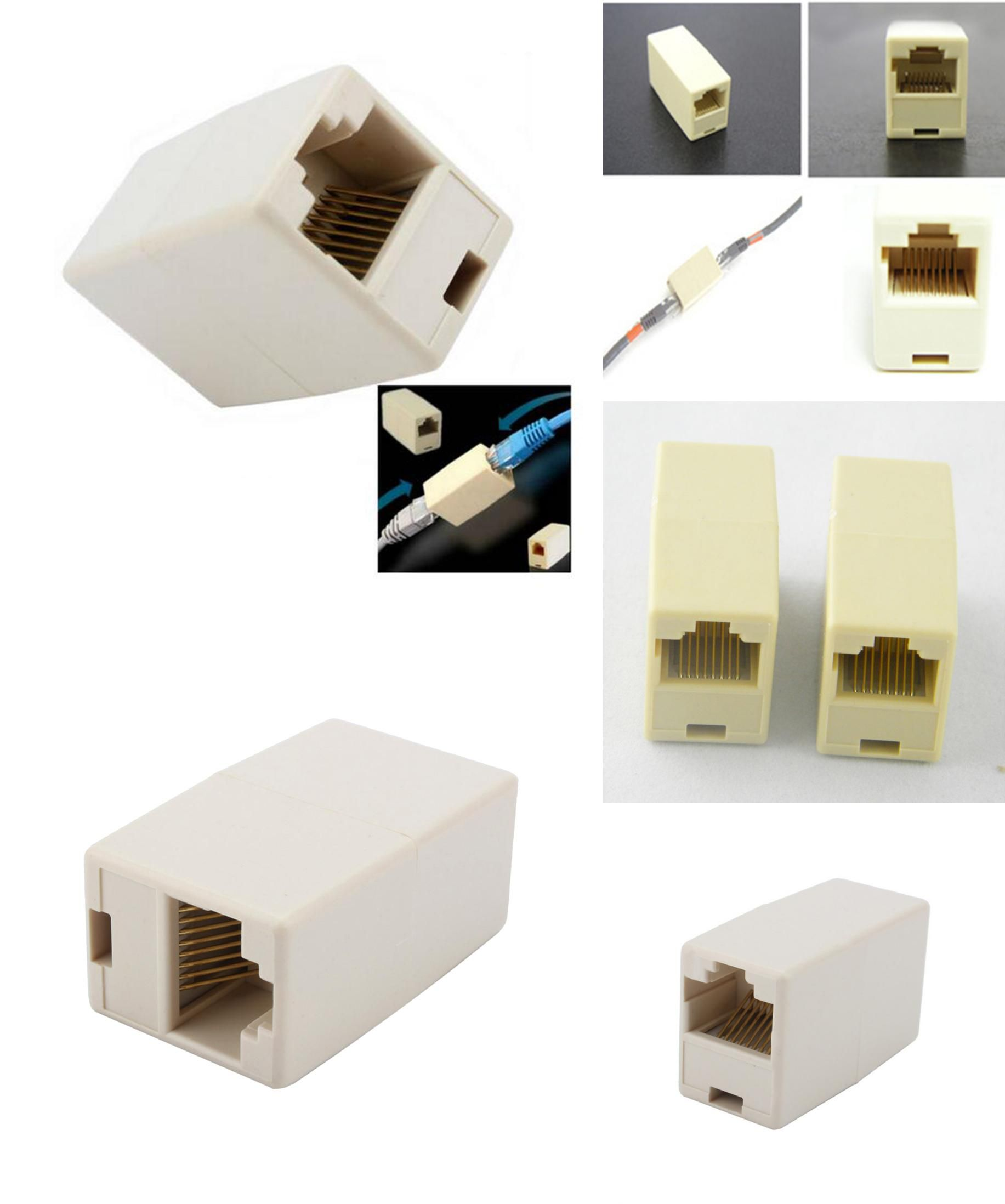 Visit To Buy 2016 Cable Joiner Rj45 Adapter Network Ethernet Lan Coupler Connector Extender Plug Advertisement Usb Flash Drive Cheap Computers Rj45