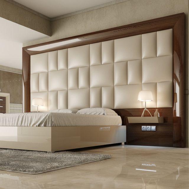 47 id es originales de t te de lit pour votre chambre for Chambre a coucher design
