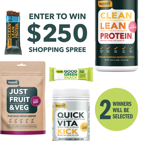 Enter To Win This Super Protein Package Prize From Nuzest Pch Sweepstakes Credit Card Transactions Enter Sweepstakes