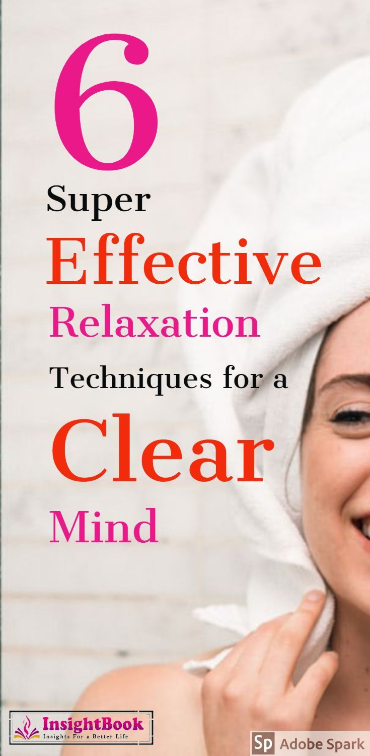 These Relaxation Techniques will help you clear your mind and be happier in life. #RelaxationTechniques #clearmind #relaxation #wellness #mentalhealth #happiness