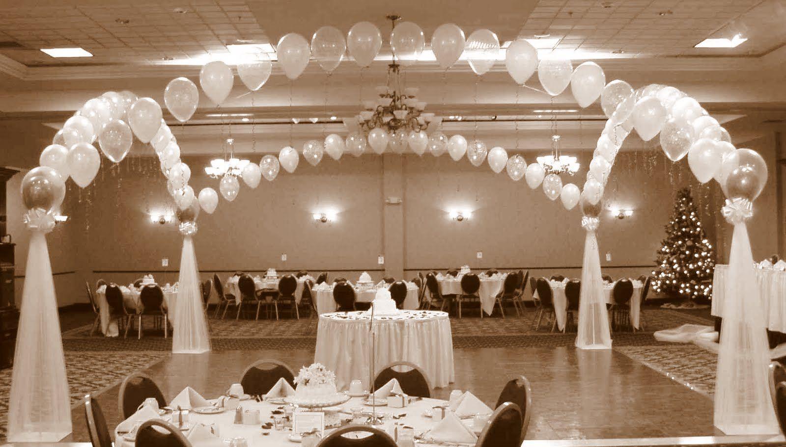 Wedding decorations for hall  Balloon Wedding Everlasting Decoration Idea  Wedding Decoration
