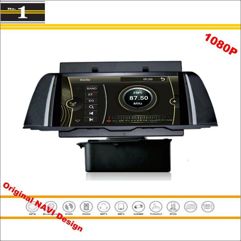 For BMW F10 2013~2014 - Car Stereo Radio CD DVD Player GPS Nav Navi Navigation 1080P HD Screen System ( Original NAVI Design )