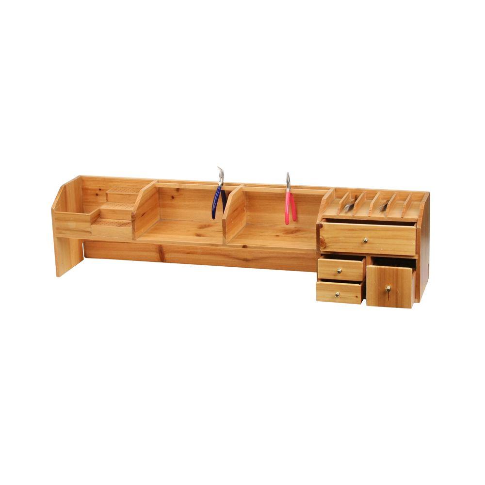 Bench Top Shelf Organizer Jewelry Bench Workstation Or