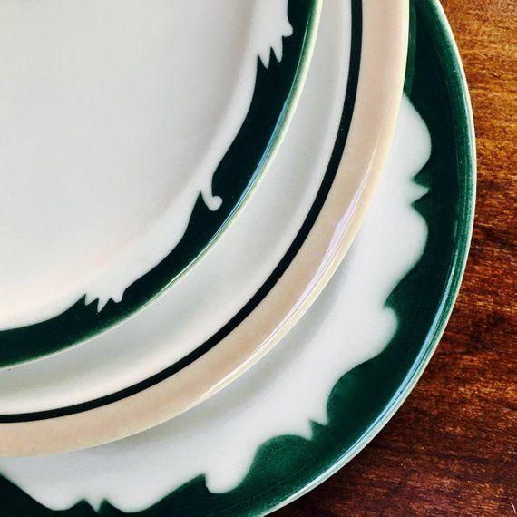 Four Syracuse China Dinner Plates, Set Of Four, Sudan
