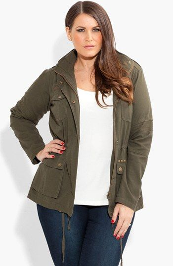 city chic 'adventure' anorak jacket (plus size) available at
