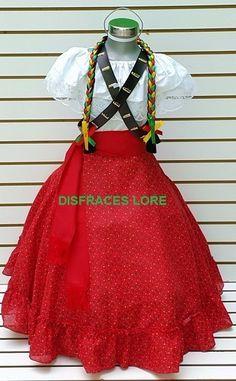 Vestuario Disfraz Falda Adelita Blusa Adelita Niñas