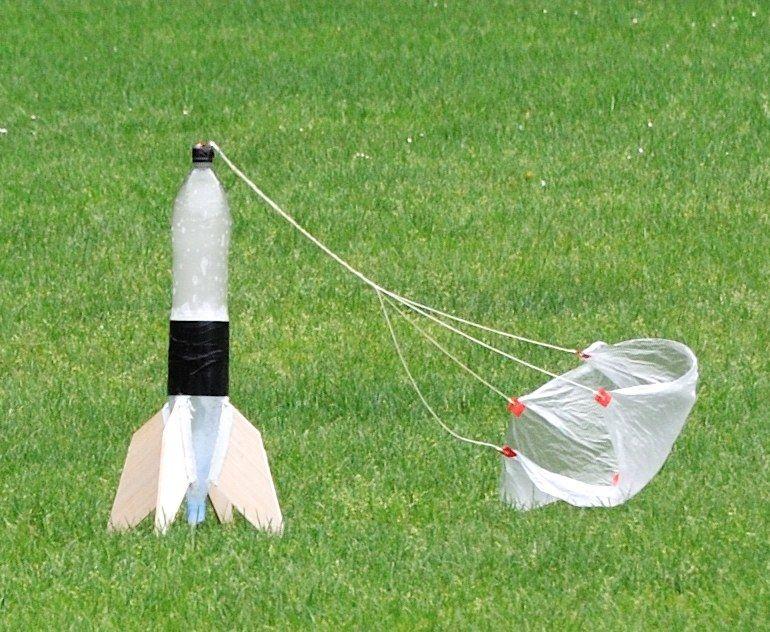 Waterraket vliegt 112 meter hoog tijdens Rocket Science Launch Day - UHasselt