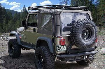 gobi roof rack jeep wrangler tj jeep