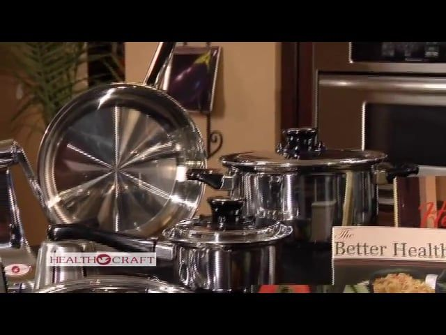 Health Craft Induction Cookware for Healthy Waterless Cooking