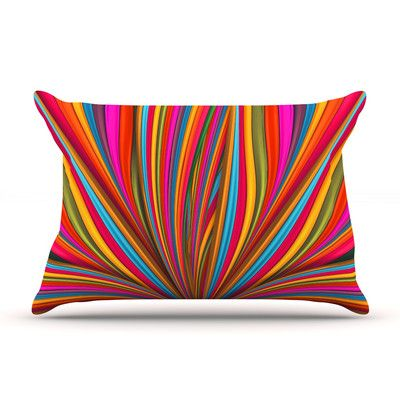 KESS InHouse Believer by Danny Ivan Featherweight Pillow Sham Size: Queen, Fabric: Woven Polyester