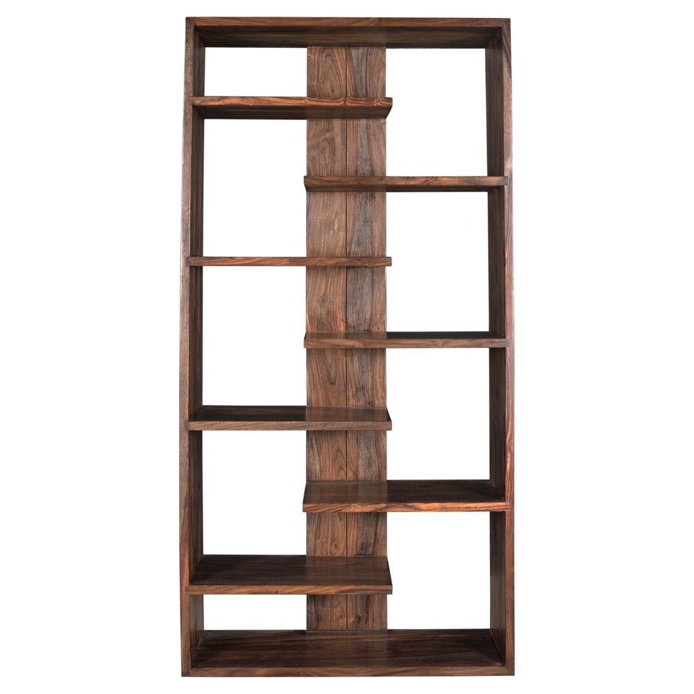 Inspirational Brown Book Shelf