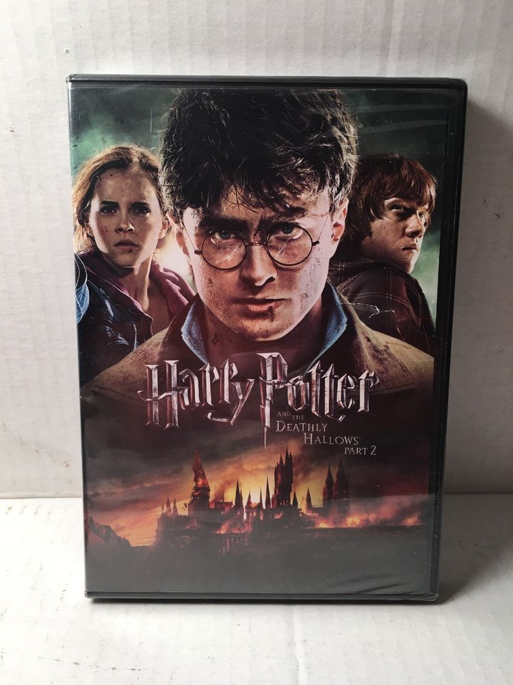 Harry Potter And The Deathly Hallows Part Ii Dvd 2011