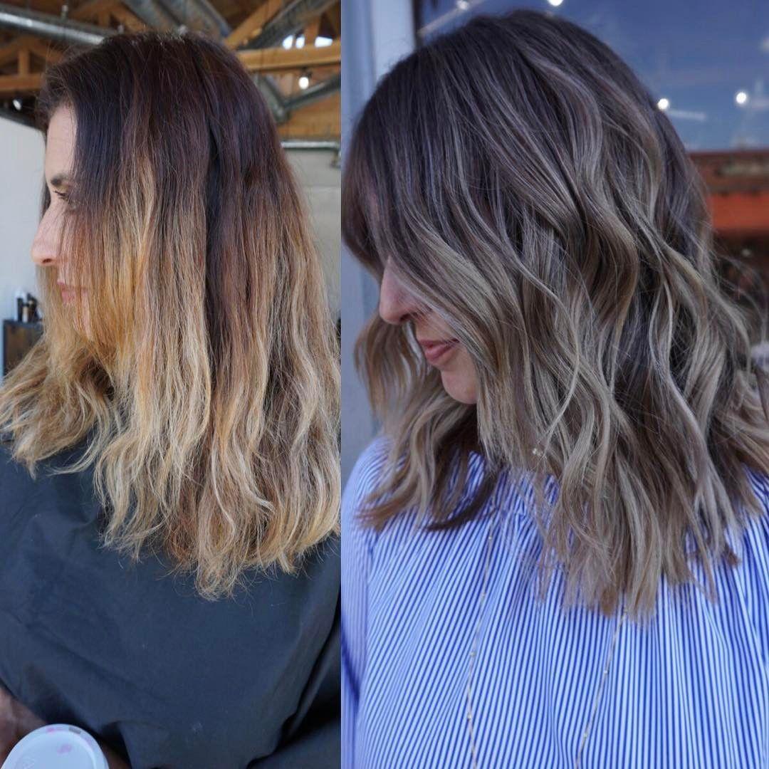 Double Process Hair Color Corrections Instagram Photos Hair