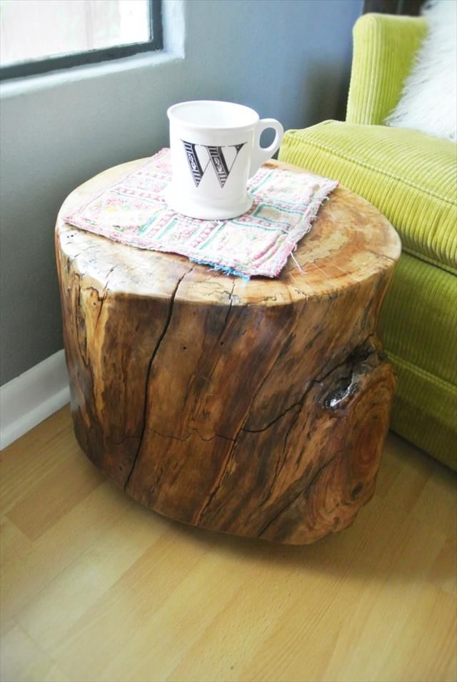 7 Diy Stylish Unique End Table In 2018 Diy Projects Pinterest