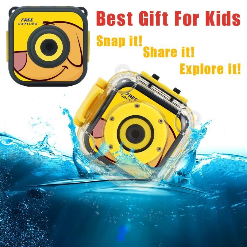 720p waterproof sports kids camera hd camcorder holiday