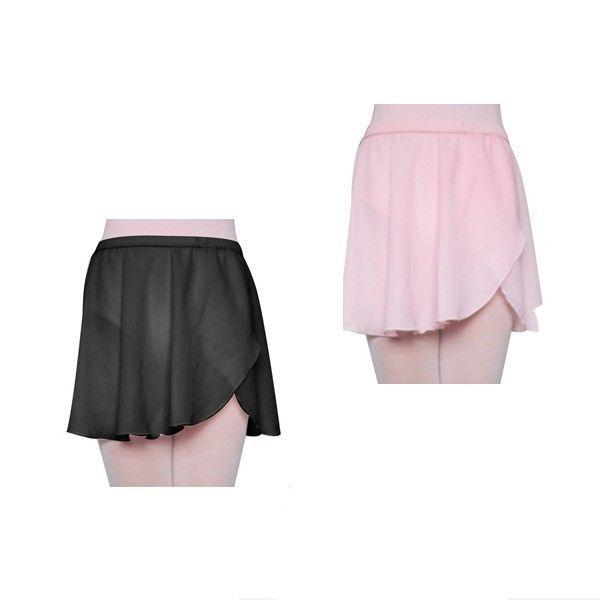 f556af190dd40 Girl s   Women s Ballet Skirt Mock Wrap