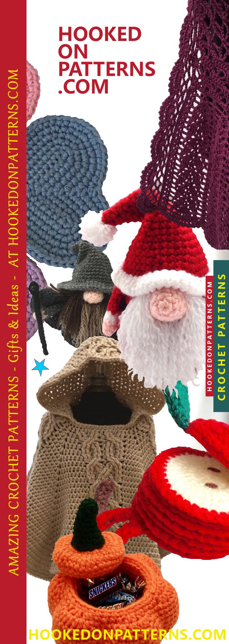 Hooked Patterns - Crochet Patterns, Free Crochet Patterns, Crochet ...