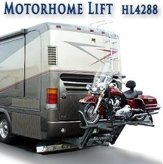 Rv Motorhome Hydralift Motorcycle Lift Solutions Pinterest