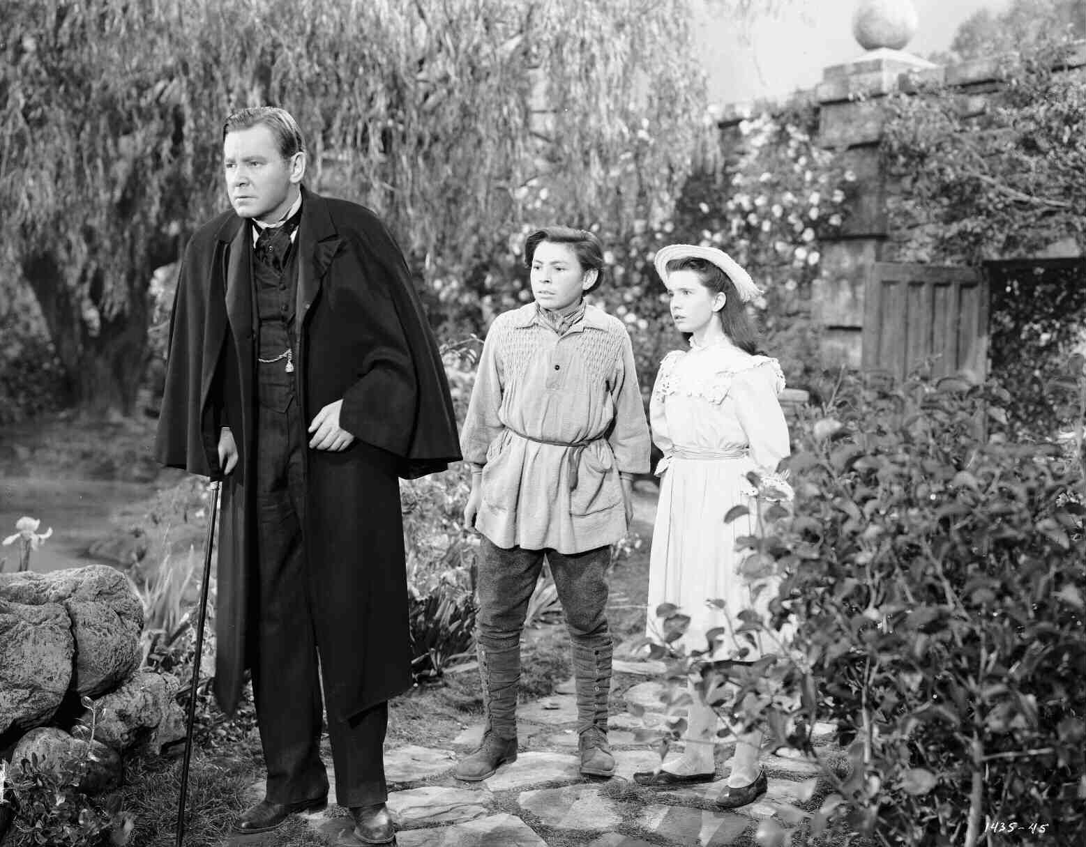 The Secret Garden (1949) Full shot of Herbert Marshall as